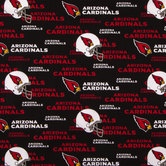 NFL Arizona Cardinals Cotton Fabric