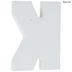 White Wood Letters K - 2