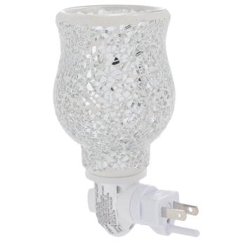Silver Reflection Mosaic Plug In Fragrance Warmer