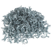 Gray Crinkle Cut Decorative Paper Shred