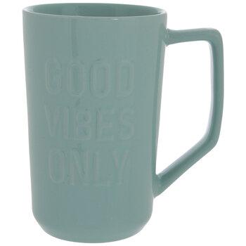 Mint Good Vibes Only Mug