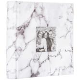 White Marble Photo Album