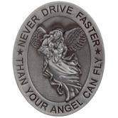 Never Drive Faster Metal Visor Clip