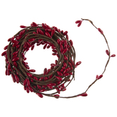 Berry Ribbon Garland