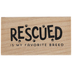 Rescued Rubber Stamp