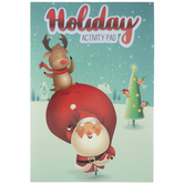 Santa & Reindeer Holiday Activity Pad