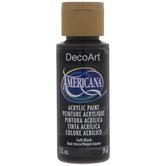 Soft Black Americana Acrylic Paint