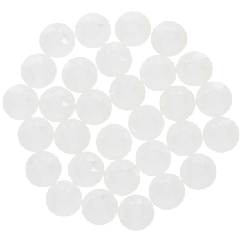 Electric White Swarovski Xirius Flat Back Hotfix Crystals - 16ss