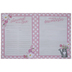 Pink Plaid Hello Baby Memory Book