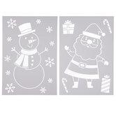 Santa & Snowman Stencils