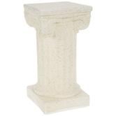Beige Column Pedestal