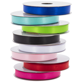 Double-Face Satin Ribbon - 3/8""