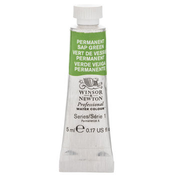 Permanent Sap Green Winsor & Newton Artists' Watercolor Paint