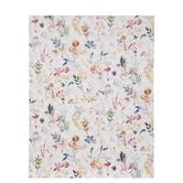 "Floral On Cream Scrapbook Paper - 8 1/2"" x 11"""