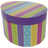 Bright Patterned Egg Box