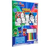 PJ Masks Pop-Outz Coloring Kit