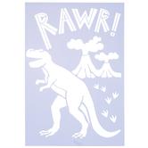 Rawr T-Rex Stencil