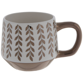 Metallic Vines Mug