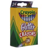 Crayola Glitter Crayons - 24 Piece Set