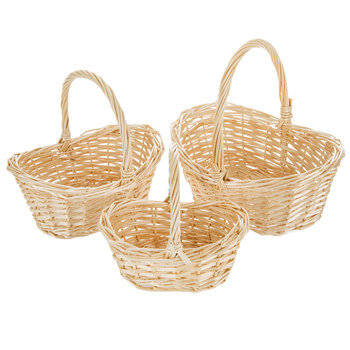 Willow Baskets With Handles
