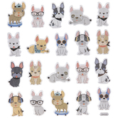 French Bulldog Foil Stickers