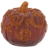 Flourish Glitter Pumpkin