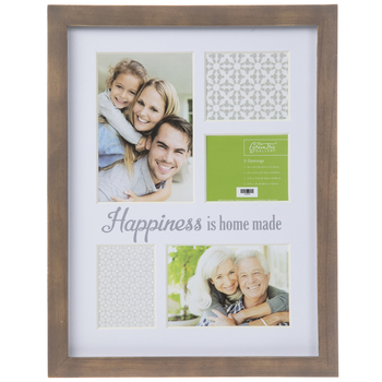 Home Made Collage Wood Wall Frame