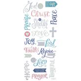 Faith Foil Stickers
