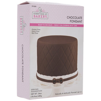 Brown Chocolate Fondant