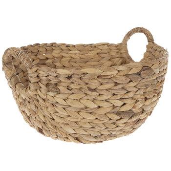 Natural Hyacinth Woven Basket