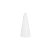 White CraftFoM Foam Cone