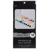 Master's Touch Watercolor Paints - 18 Piece Set
