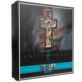Hand Scraped Rustic Wood Unity Cross