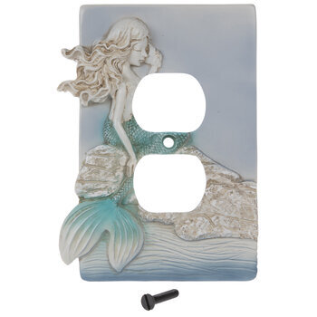 Mermaid Outlet Cover
