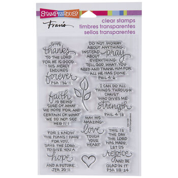 Bible Verses Clear Stamps