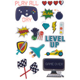 Video Games 3D Stickers