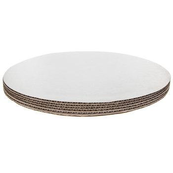 "White Round Cake Boards - 14"""