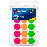 """Color Coding Labels - 3/4"""""""