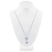 Key Cross Matthew 16:19 Necklace