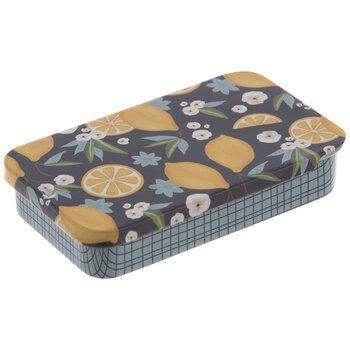 Lemon Tin Needle Box