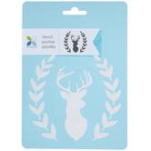 Deer Head & Fauna Stencil