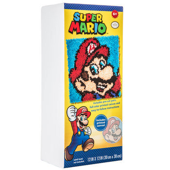 Super Mario Latch Hook Kit