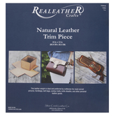 Natural Leather Trim Piece