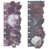 Dark Floral Happy Planner Bookmarks