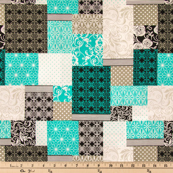 Cherish Patch Apparel Fabric