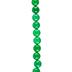 Emerald Dyed Round Jade Bead Strand