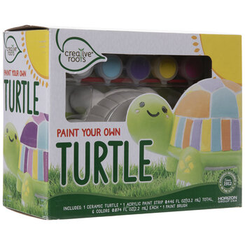 Paint Your Own Turtle Kit