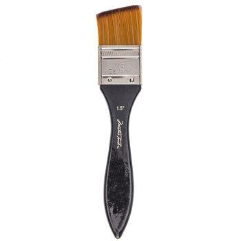 Golden Taklon Angular Paint Brush