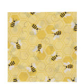 Bee & Honeycomb Napkins - Large