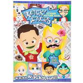 Wacky Faces Sticker Picture Book